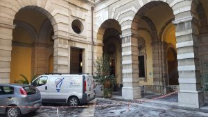 Lavorazioni presso uffici della Prefettura di Forlì