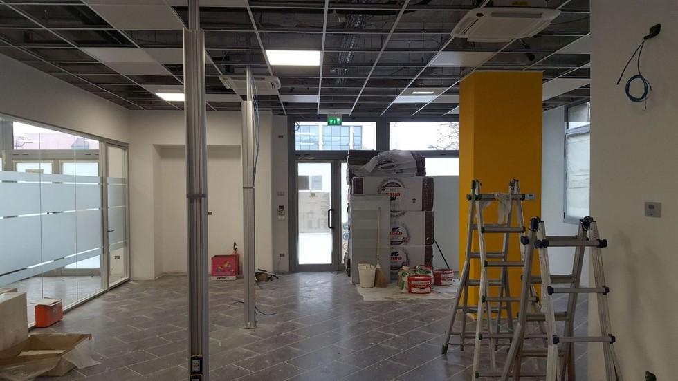 Nuovo impianto per uffici commerciali