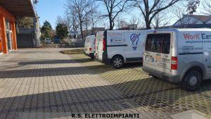 Manutenzione impianto elettrico presso Work Center di Forlì