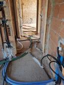 Stesura tubazioni per installazione impianti elettrici e speciali