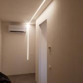 Impianto illuminazione presso nuova sede Studio Tecnico Spazzoli e Strocchi Ecohouse